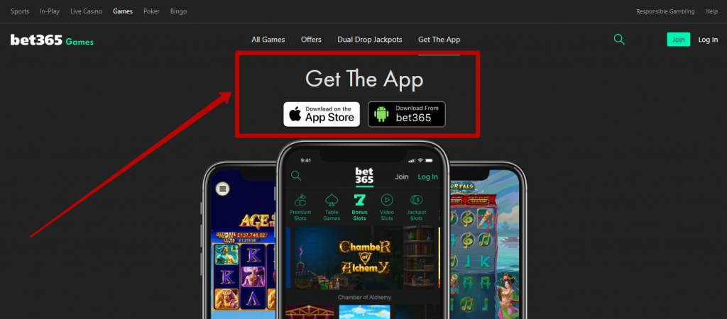 Bet365 app for mobile