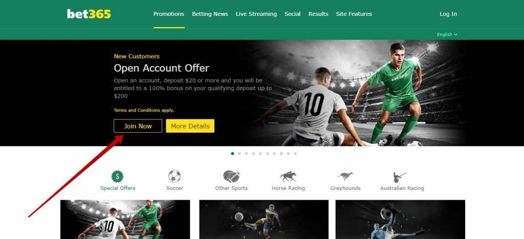 Bet365 bonus code and promotions