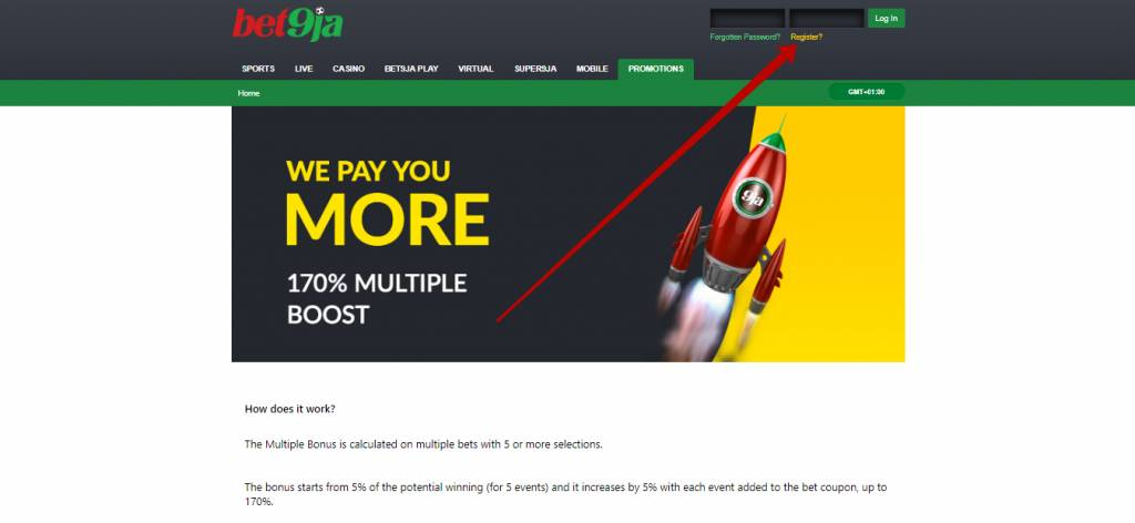 Bet9ja bonus multiple boost
