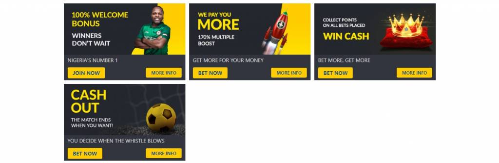 Bet9ja bonuses and promotions