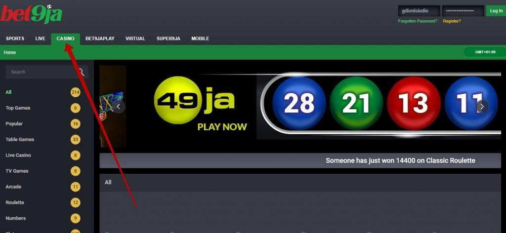 Bet9ja casino review