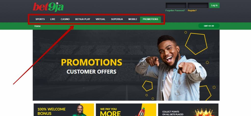 Bet9ja live betting