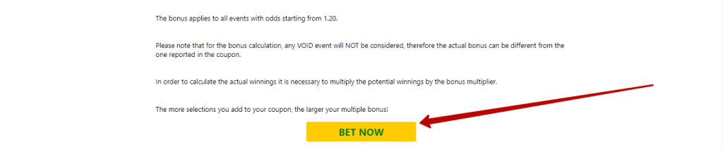 Bet9ja multiple bonus