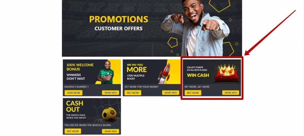 Bet9ja promotions for customers