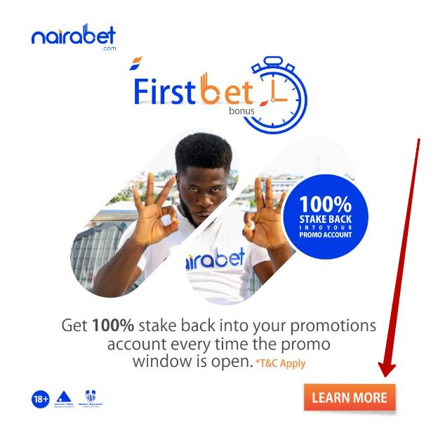 Nairabet bonus codes and promotions