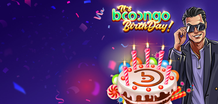 Boongo BirthDay promotion
