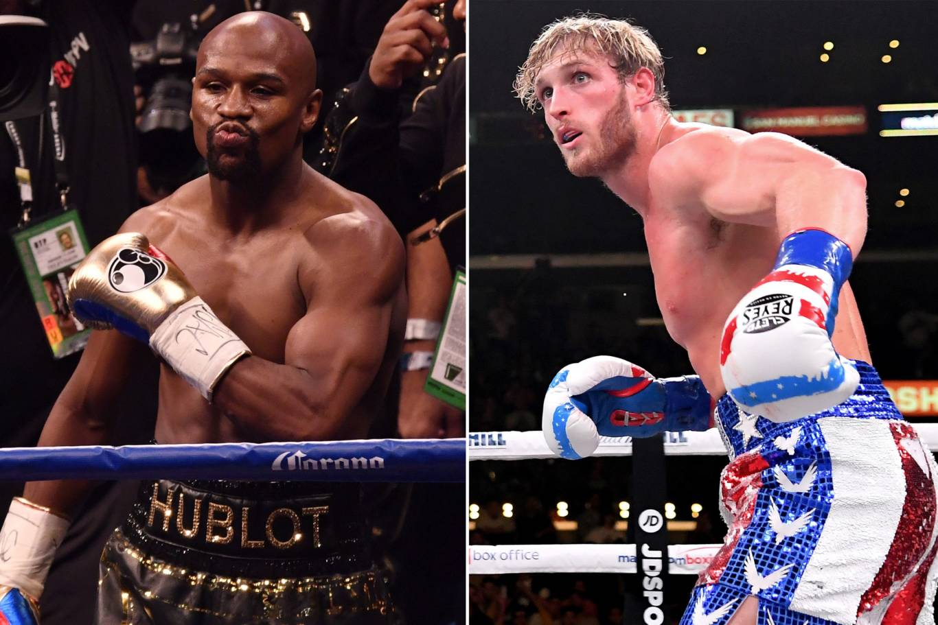 Floyd Mayweather fight Logan Paul