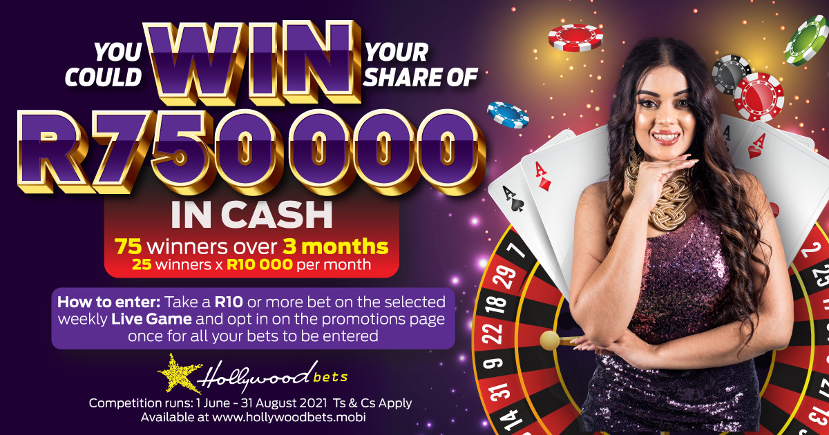 Play 32 Cards and get a part of 750000 rands from Hollywoodbet